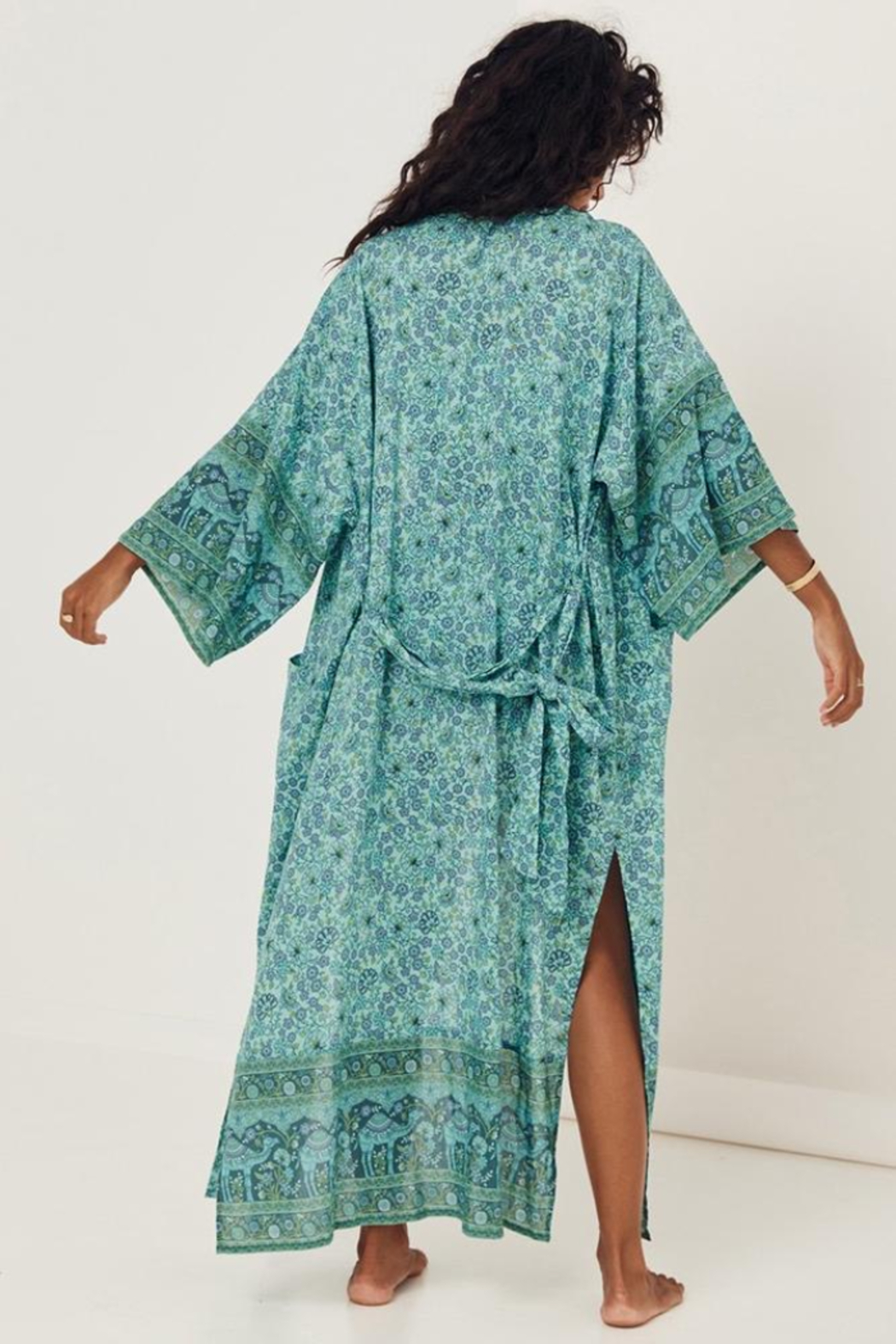 Spell & the Gypsy Collective Sundown Maxi Robe - Side Cropped Image