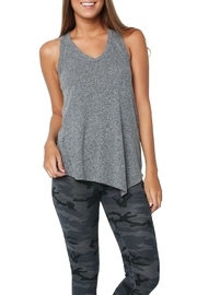 Sundry Asymetrical Hem Tank Top - Product Mini Image