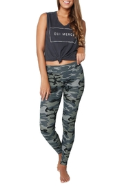 Sundry Grey Camo Yoga Pant - Product Mini Image
