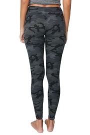 Sundry Black Camo Yoga Pant - Back cropped