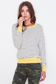 Sundry Colorblock Cuff Top - Product Mini Image