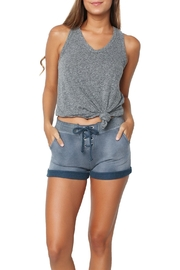 Sundry Lace-Up Shorts - Product Mini Image