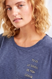 Sundry Le Soleil Tee - Side cropped