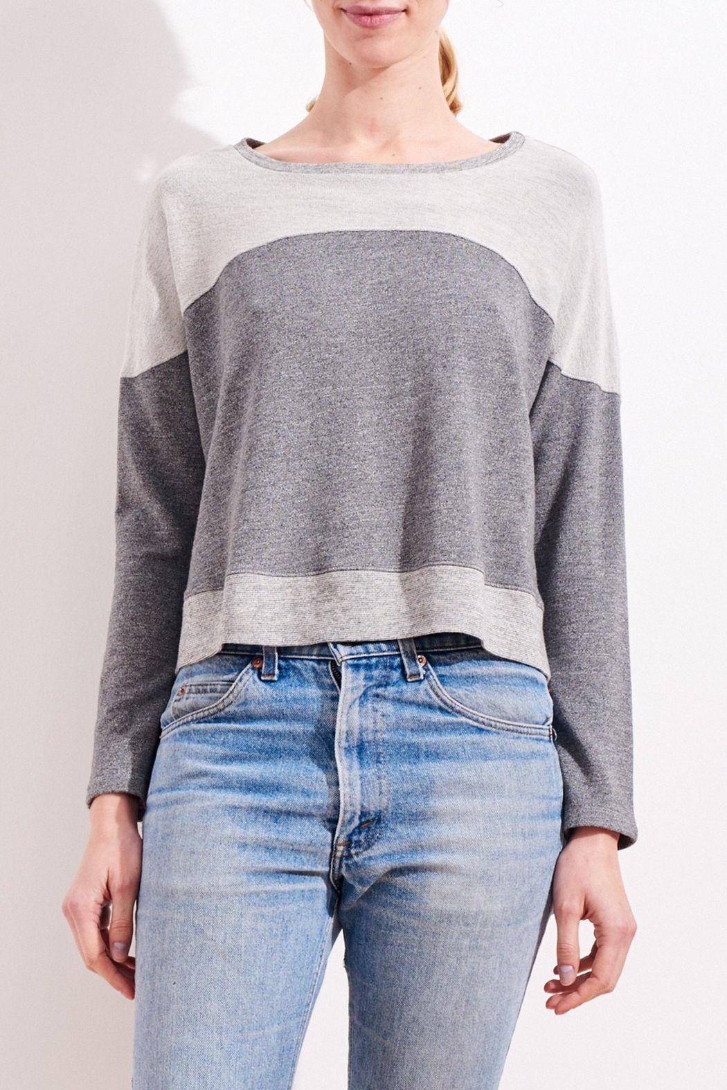 Sundry Mermaid Pullover - Side Cropped Image