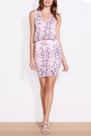 Sundry Python Print Dress - Product Mini Image