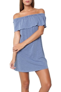 Sundry Ruffle Off The Shoulder Dress - Product List Image