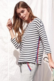 Sundry Stripe Top - Product Mini Image