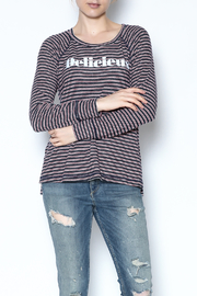 Sundry Striped Delicieux Top - Product Mini Image