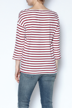 Sundry Striped Graphic Top - Alternate List Image