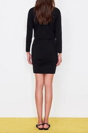 Sundry Surplice Ruched Dress - Back cropped