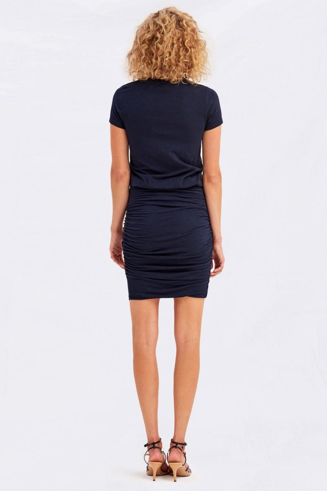 Sundry Tulip Hem Dress - Side Cropped Image