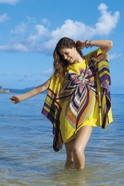 Sunflair Beach Fashion Sixties Print Cover-Up - Front cropped