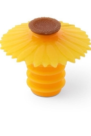 Charles Viancin Sunflower Bottle Stoppers - Product Mini Image
