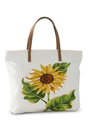K & K Sunflower Canvas Tote - Product Mini Image