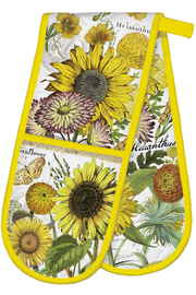 Michel Design Works Sunflower Double Oven Glove - Product Mini Image