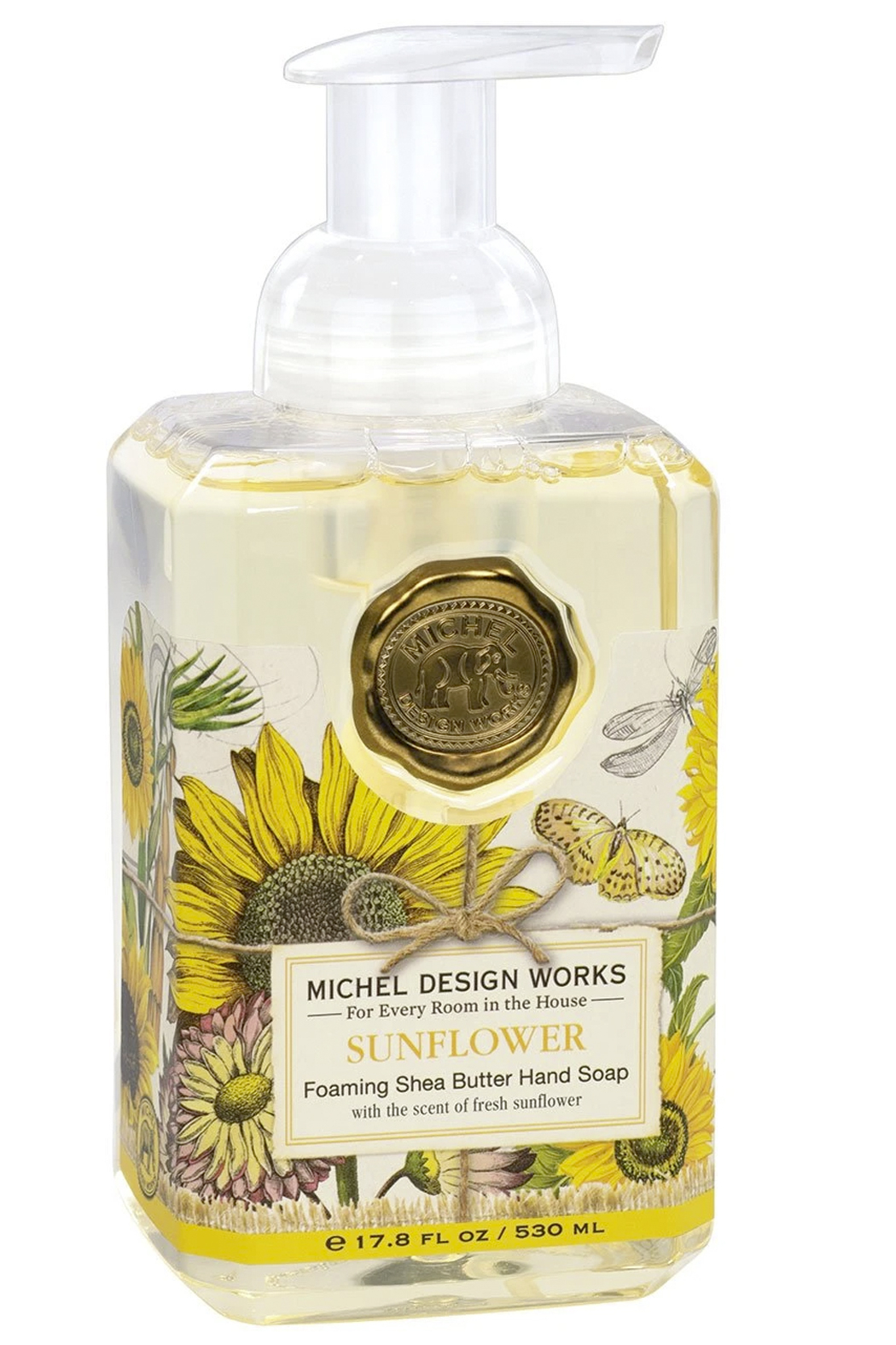 Michel Design Works Sunflower Foaming Soap - Main Image