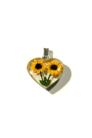 Light Years Collection Sunflower Heart Necklace - Product Mini Image