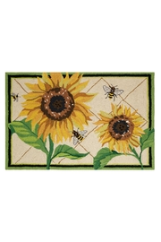 Peking Handicraft Sunflower Hooked Rug - Product Mini Image
