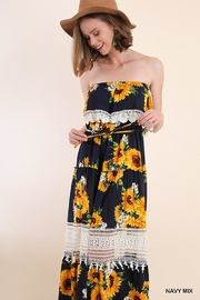 Umgee USA Sunflower Maxi Dress - Product Mini Image
