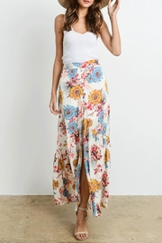 Le Lis Sunflower Maxi Skirt - Product Mini Image