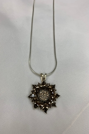 deannas Sunflower Pendant Necklace - Front cropped
