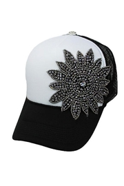 Cap Zone Sunflower Trucker Hat - Product Mini Image