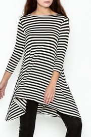 Sung Light Modern Stripe Dress - Product Mini Image