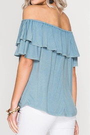Sung Light Off Shoulder Top - Front full body
