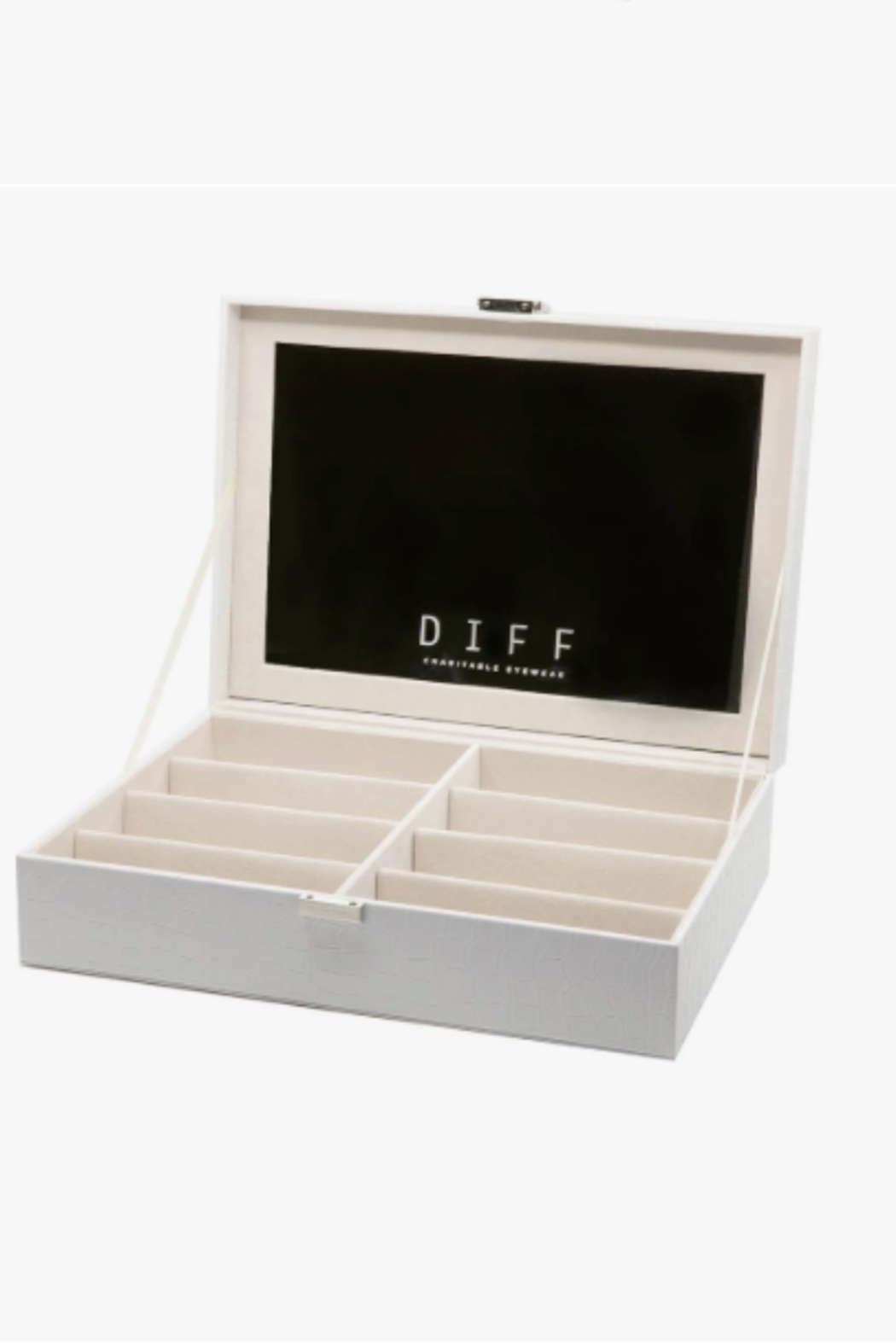 DIFF Sunglass Vanity Case - Front Cropped Image