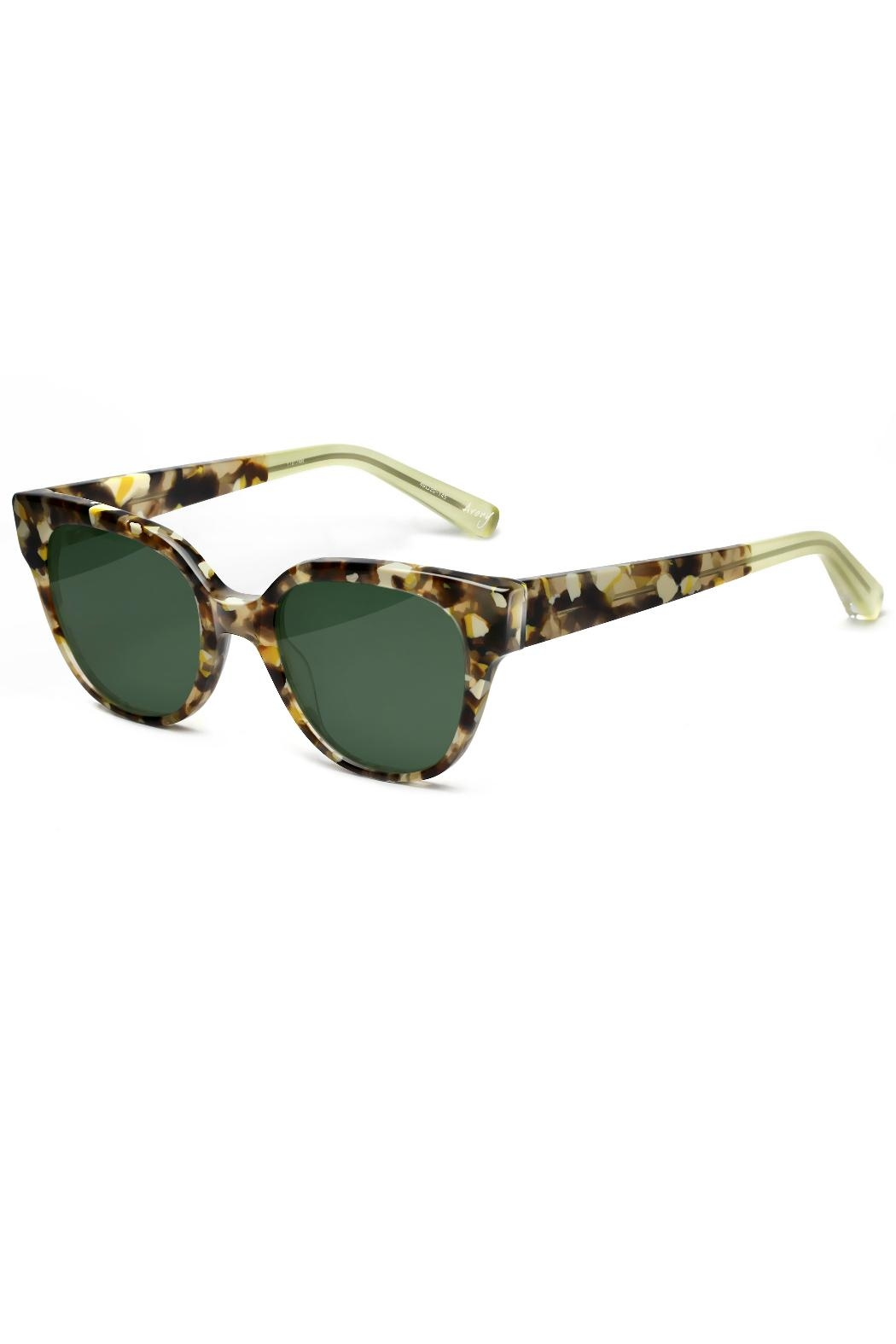Elizabeth and james Sunglasses Avory Tortoise - Front Full Image