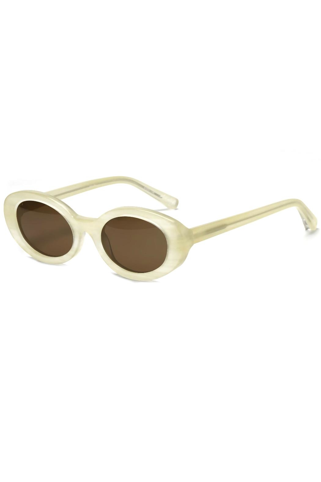 Elizabeth and james Sunglasses McKinley White - Front Full Image