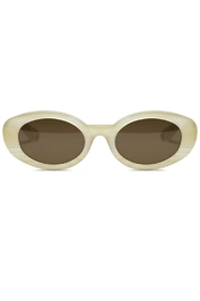Elizabeth and james Sunglasses McKinley White - Front cropped