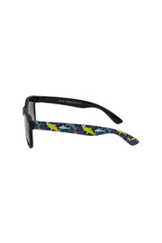 Shark Eyes Sunglasses With Matching Case: Sharks - Front full body