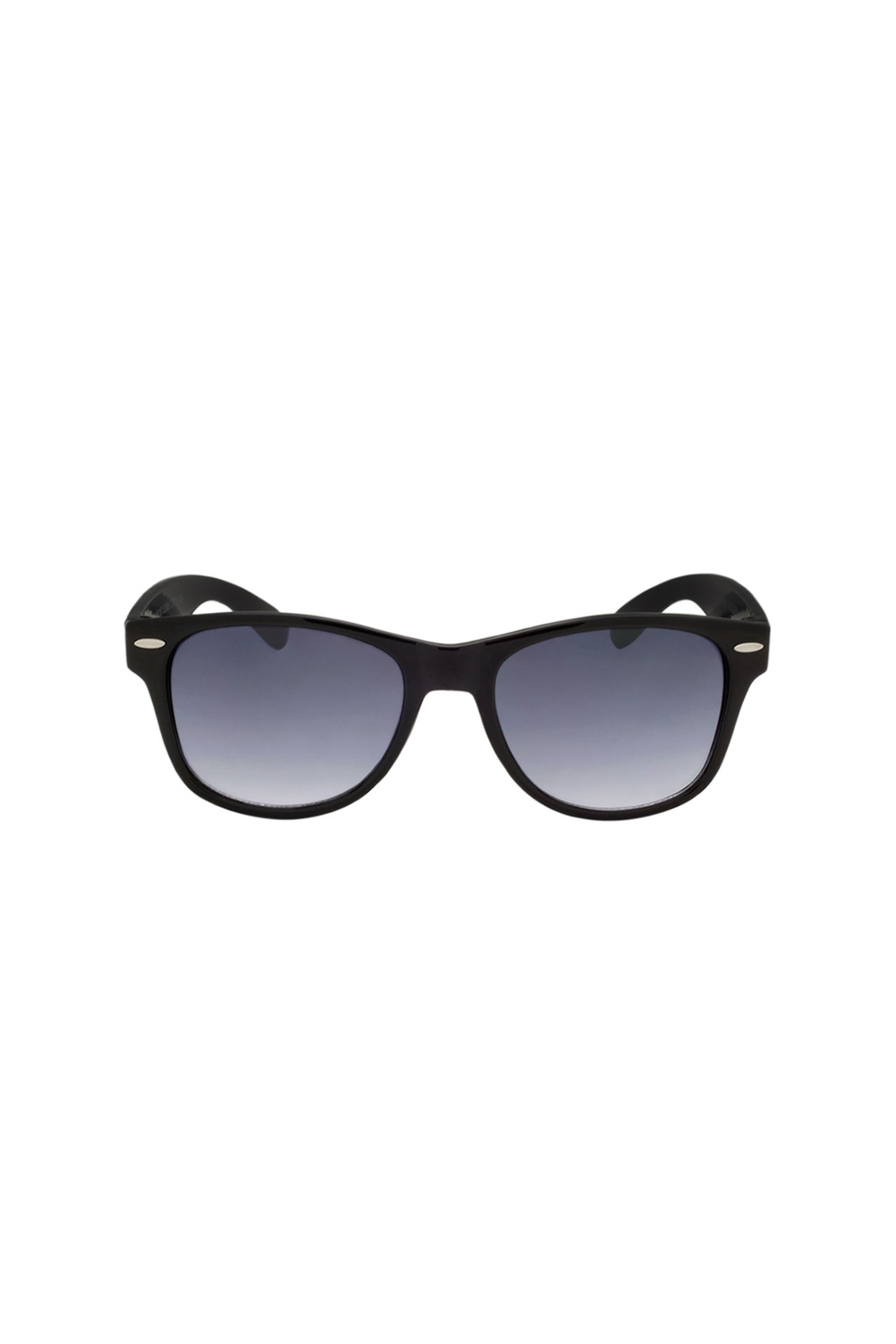 Shark Eyes Sunglasses With Matching Case: Sharks - Back Cropped Image