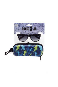 Shoptiques Product: Sunglasses With Matching Case: Sharks