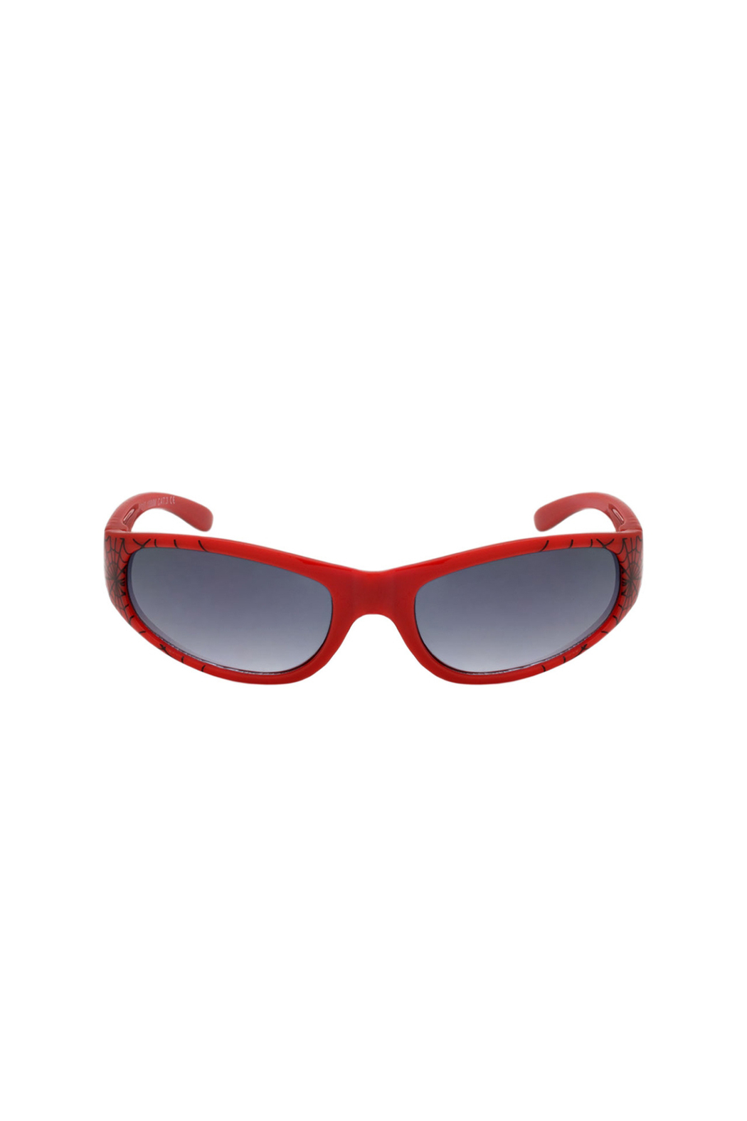 Shark Eyes Sunglasses With Matching Case: Spiders - Back Cropped Image