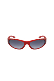 Shark Eyes Sunglasses With Matching Case: Spiders - Back cropped