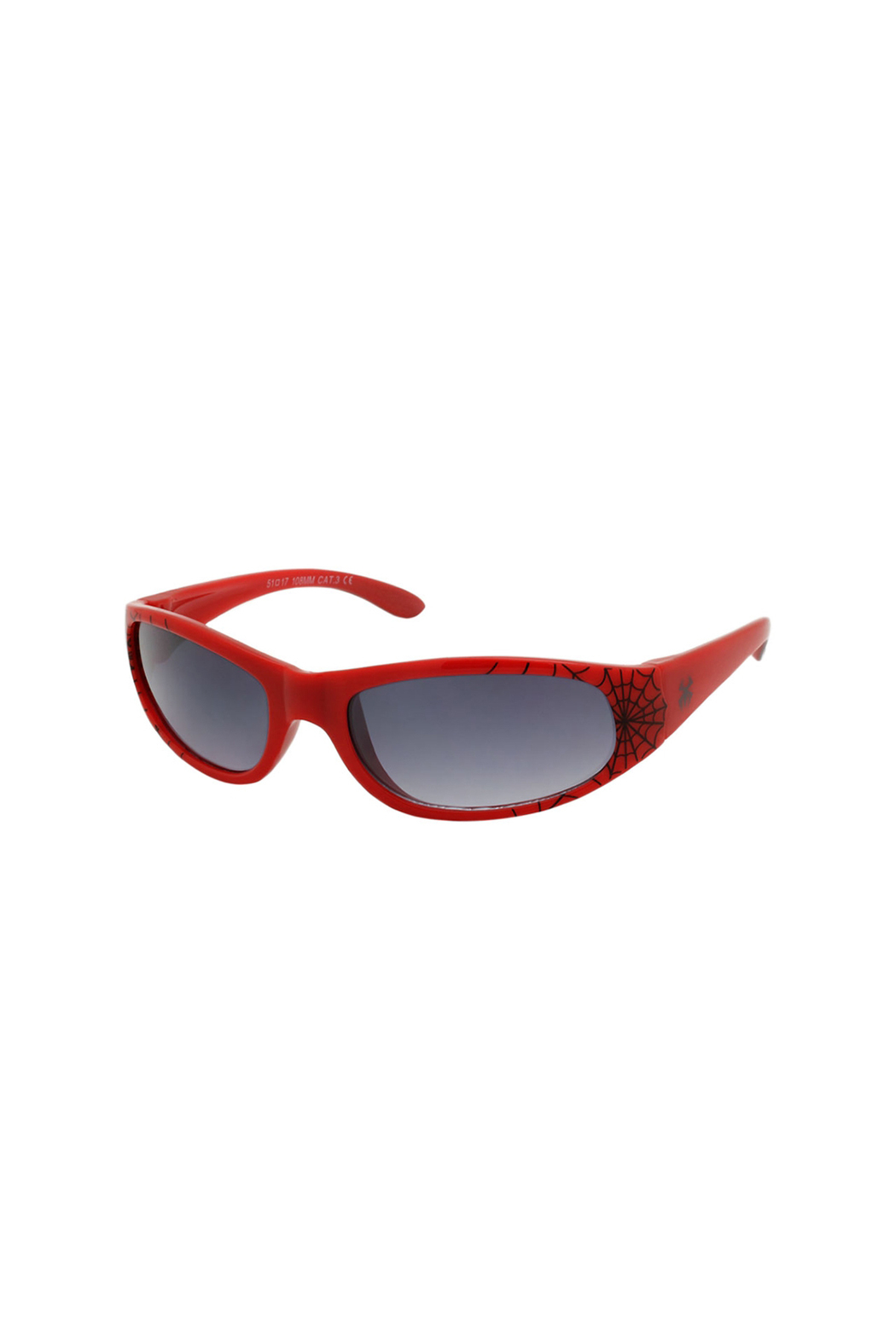 Shark Eyes Sunglasses With Matching Case: Spiders - Side Cropped Image