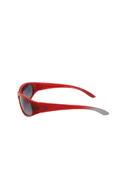 Shark Eyes Sunglasses With Matching Case: Spiders - Front full body