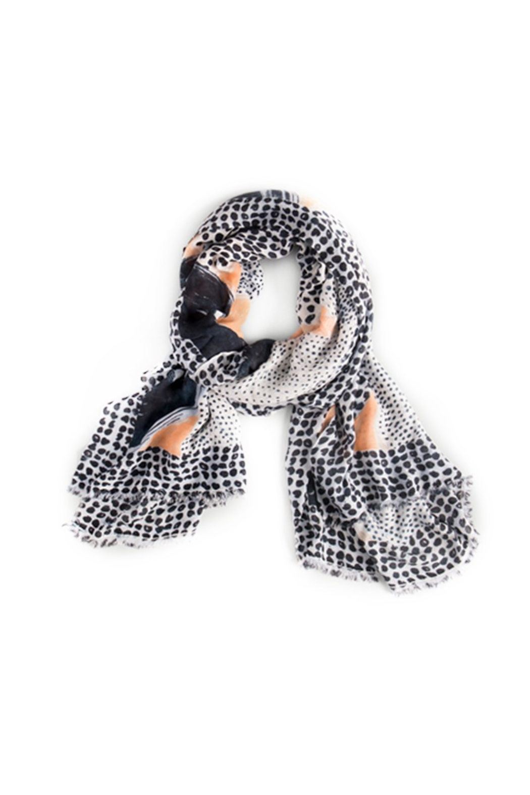 Nic + Zoe Sungrove Scarf - Front Cropped Image