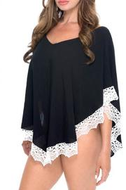 Sunkitten Swimwear Lace Poncho Cover Up - Product Mini Image