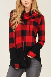 Sunlight Plaid Buffalo Pullover - Front cropped