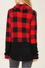 Sunlight Plaid Buffalo Pullover - Front full body