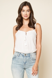 Sugarlips Sunlover Crochet Trim Cami - Front cropped