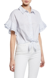 Cupcakes & Cashmere Sunnie Gingham Blouse - Front cropped