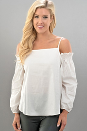 Trend:notes Sunny Day Cold Shoulder Top - Product Mini Image