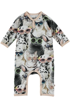 Molo Sunny Funny Playsuit - Product List Image
