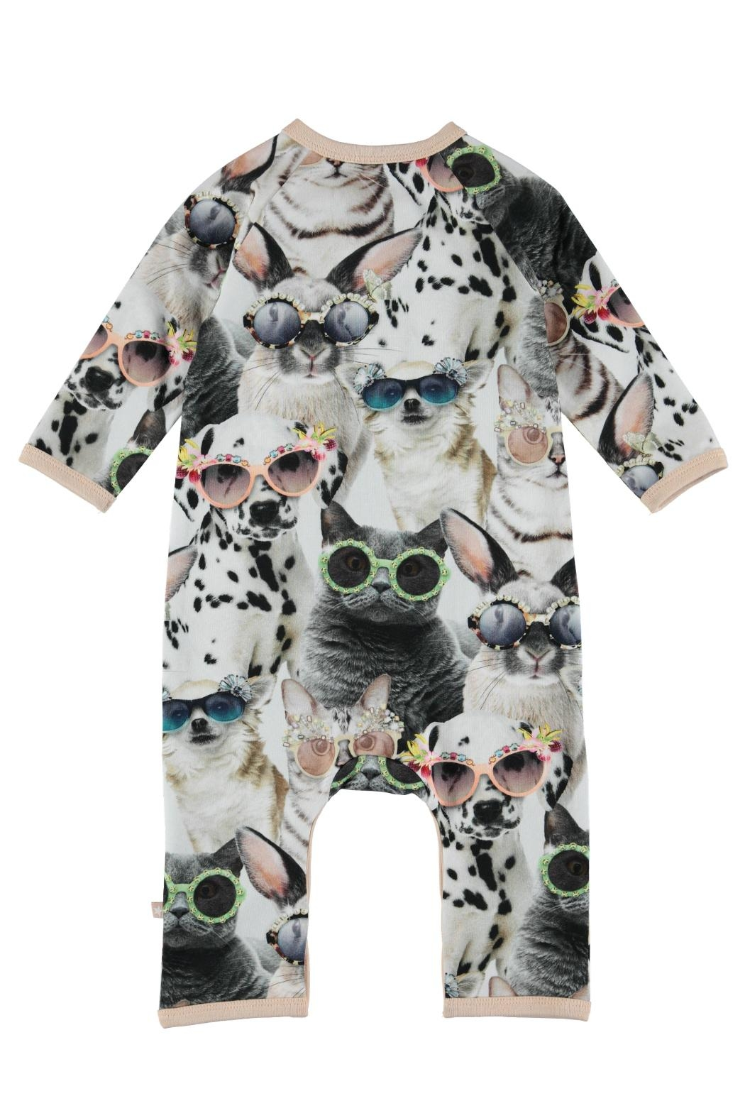 Molo Sunny Funny Playsuit - Front Full Image