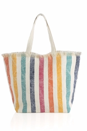 Shiraleah Sunny Stripe Tote - Product Mini Image