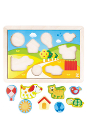 Hape  Sunny Valley 3 in 1 Puzzle - Product Mini Image